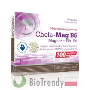 BioTrendy - Chela-Mag B6 PL - tabletki z witaminami – tabletki z mineralami