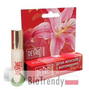 BioTrendy - Desire Mini Women 2 PL - feromony dla kobiet – damskie feromony