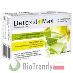 BioTrendy - Detoxid Max PL - tabletki na oczyszczanie organizmu - oczyszczanie organizmu z toksyn