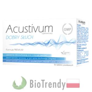 BioTrendy - Acustivum PL - tabletki na słuch - tabletki na szumy uszne