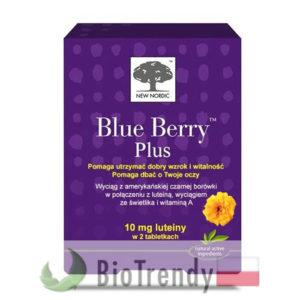 BioTrendy - Blue Berry Plus PL - tabletki na oczy - tabletki na wzrok