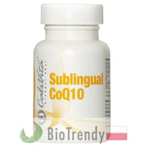 BioTrendy - CaliVita Sublingual CoQ10 PL - tabletki na zmarszczki – tabletki na stres oksydacyjny