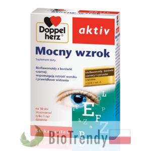 BioTrendy - Doppelherz aktiv Mocny wzrok PL - tabletki na oczy - tabletki na wzrok