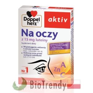 BioTrendy - Doppelherz aktiv Na oczy PL - tabletki na oczy - tabletki na wzrok