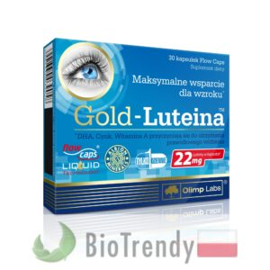 BioTrendy - Gold-Luteina PL - tabletki na oczy - tabletki na wzrok