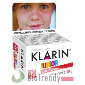 BioTrendy - Klarin Junior PL - tabletki na oczy - tabletki na wzrok