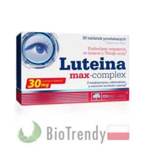 BioTrendy - Luteina max-complex PL - tabletki na oczy - tabletki na wzrok