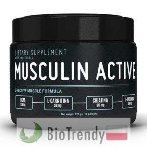 BioTrendy - Musculin Active PL - odzywka na przyrost masy miesniowej – odzywka na mase miesniowa