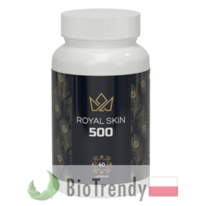 BioTrendy - Royal Skin 500 PL - tabletki na tradzik - tabletki na pryszcze