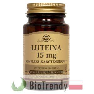 BioTrendy - Solgar Luteina 15 mg PL - tabletki na oczy - tabletki na wzrok