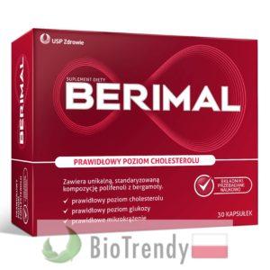 BioTrendy - Berimal PL - tabletki na cholesterol - tabletki obnizajace cholesterol