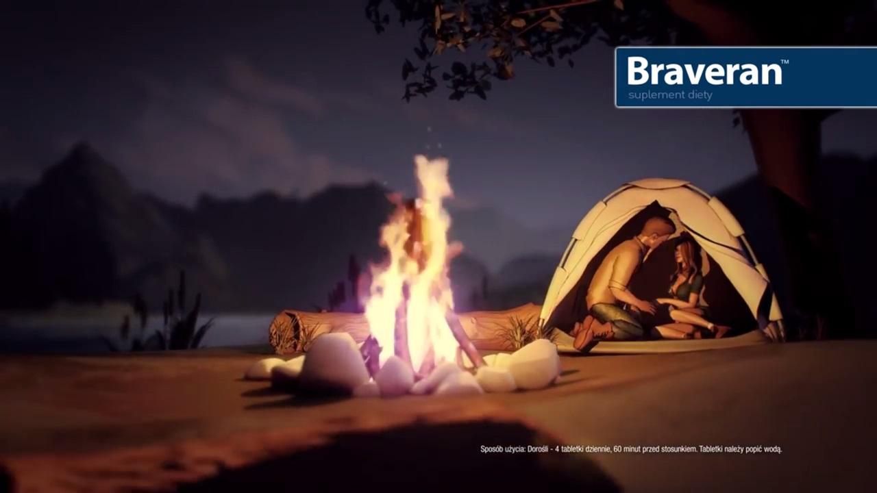 Braveran - tabletki na erekcję