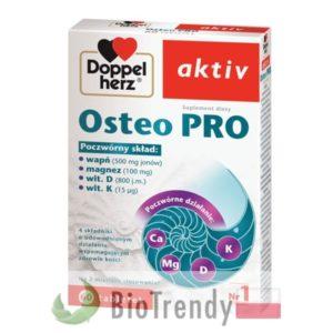 BioTrendy - Doppelherz aktiv Osteo PRO - tabletki wzmacniajace kosci - tabletki wzmacniajace uklad kostny