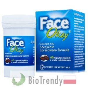 BioTrendy - Face Okey - tabletki na tradzik - tabletki na pryszcze