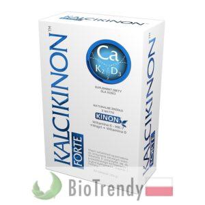 BioTrendy - Kalcikinon Forte PL - tabletki wzmacniajace kosci - tabletki wzmacniajace uklad kostny