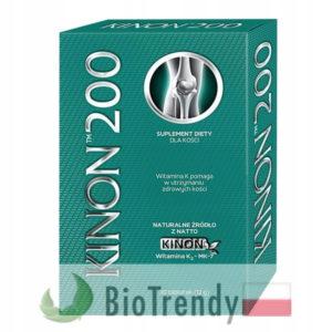 BioTrendy - Kinon 200 PL - tabletki wzmacniajace kosci - tabletki wzmacniajace uklad kostny