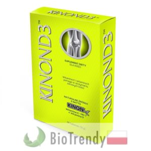 BioTrendy - Kinon D3 PL - tabletki wzmacniajace kosci - tabletki wzmacniajace uklad kostny