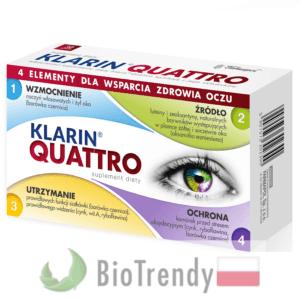 BioTrendy - Klarin Quattro PL - tabletki na oczy - tabletki na wzrok