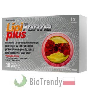 BioTrendy - LipiForma Plus PL - tabletki na cholesterol - tabletki obnizajace cholesterol