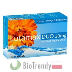 BioTrendy - Lutamax Duo 20 mg PL - tabletki na oczy - tabletki na wzrok