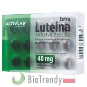 BioTrendy - Luteina Extra PL - tabletki na oczy - tabletki na wzrok