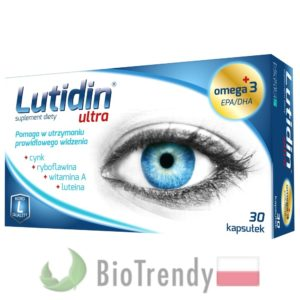 BioTrendy - Lutidin Ultra PL - tabletki na oczy - tabletki na wzrok