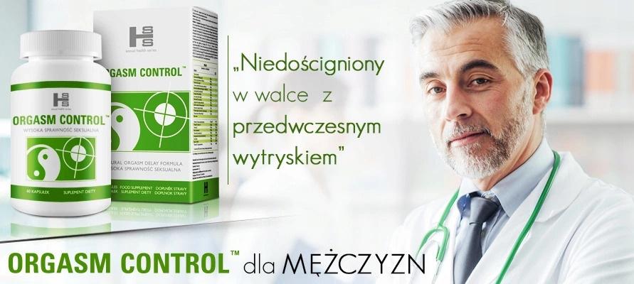 Orgasm Control - tabletki na przedwczesny wytrysk