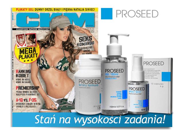 ProSeed – tabletki na potencję