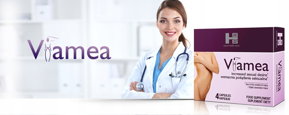 Viamea - tabletki na libido u kobiet