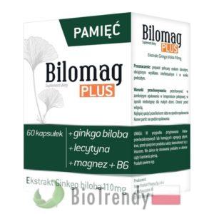BioTrendy - Bilomag plus PL - tabletki na koncentracje – tabletki na pamiec