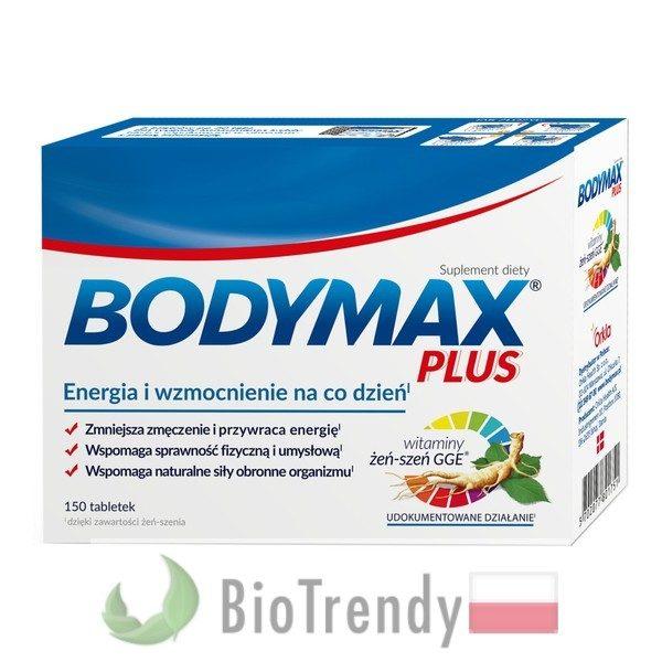 BioTrendy - Bodymax Plus PL - tabletki z witaminami – tabletki z mineralami