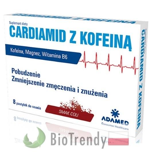 BioTrendy - Cardiamid PL - tabletki na koncentracje – tabletki na pamiec