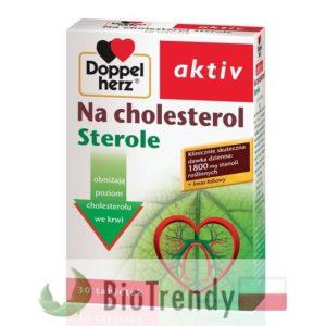 BioTrendy - Doppelherz aktiv Na cholesterol PL - tabletki na cholesterol - tabletki obnizajace cholesterol
