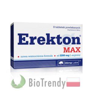 BioTrendy - Erekton MAX PL - tabletki na erekcje – tabletki na potencje