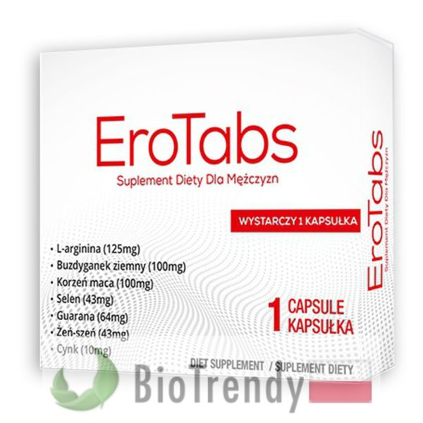 BioTrendy - EroTabs PL - tabletki na erekcje – tabletki na potencje