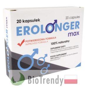 BioTrendy - Erolonger Max PL - tabletki na erekcje – tabletki na potencje