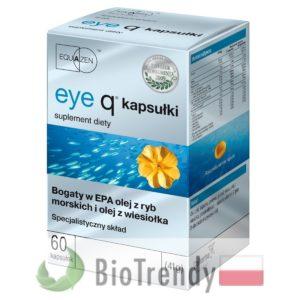 BioTrendy - Eye Q PL - nienasycone kwasy tłuszczowe - kwasy tłuszczowe omega 3