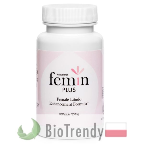 BioTrendy - Femin Plus PL - tabletki na libido u kobiet - tabletki na potencje dla kobiet