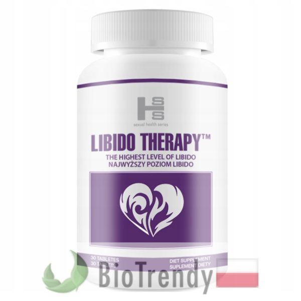 BioTrendy - Libido Therapy PL - tabletki na libido u kobiet - tabletki na potencje dla kobiet