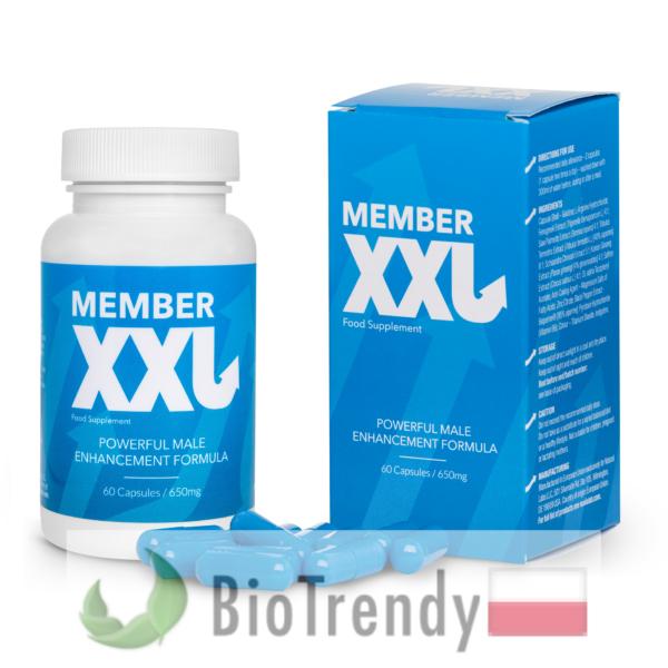 BioTrendy - Member XXL PL - tabletki na powiększanie penisa - sposoby na powiększenie penisa
