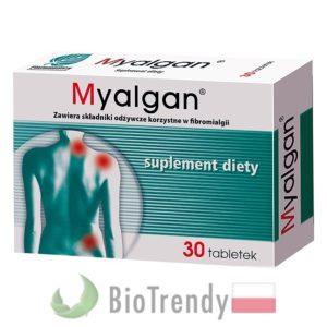 BioTrendy - Myalgan PL - tabletki na koncentracje – tabletki na pamiec