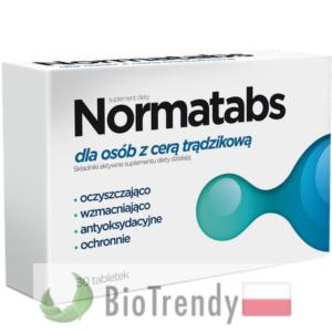 BioTrendy - Normatabs PL - tabletki na tradzik - tabletki na pryszcze