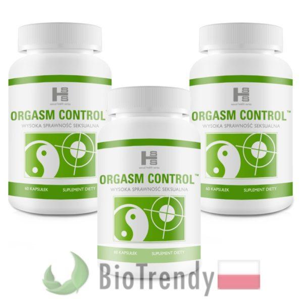 BioTrendy - Orgasm Control PL - tabletki na przedwczesny wytrysk - tabletki na opóźnienie wytrysku
