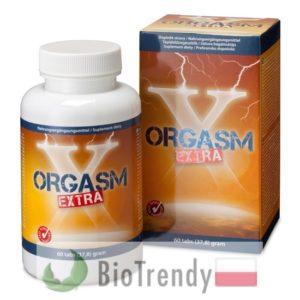 BioTrendy - Orgasm Extra PL - tabletki na przedwczesny wytrysk - tabletki na opóźnienie wytrysku