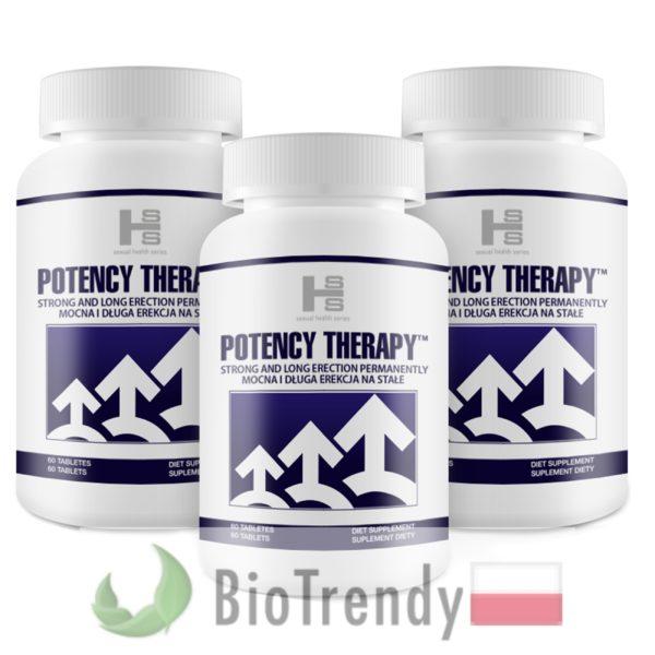 BioTrendy - Potency Therapy PL - tabletki na erekcje – tabletki na potencje