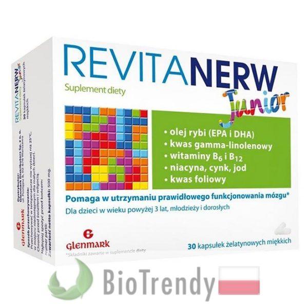 BioTrendy - Revitanerw junior PL - tabletki na koncentracje – tabletki na pamiec