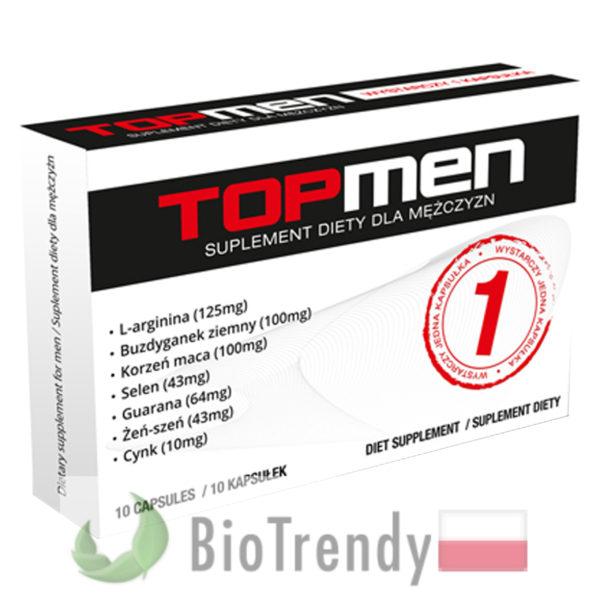 BioTrendy - Top Men PL - tabletki na erekcje – tabletki na potencje
