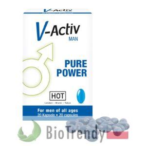 BioTrendy - V-Activ for Men PL - tabletki na erekcje – tabletki na potencje