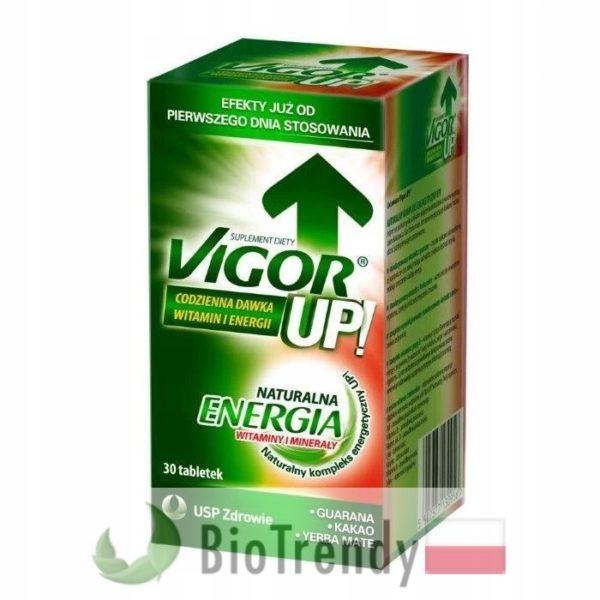 BioTrendy - Vigor Up PL - tabletki na koncentracje – tabletki na pamiec