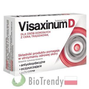 BioTrendy - Visaxinum D PL - tabletki na tradzik - tabletki na pryszcze